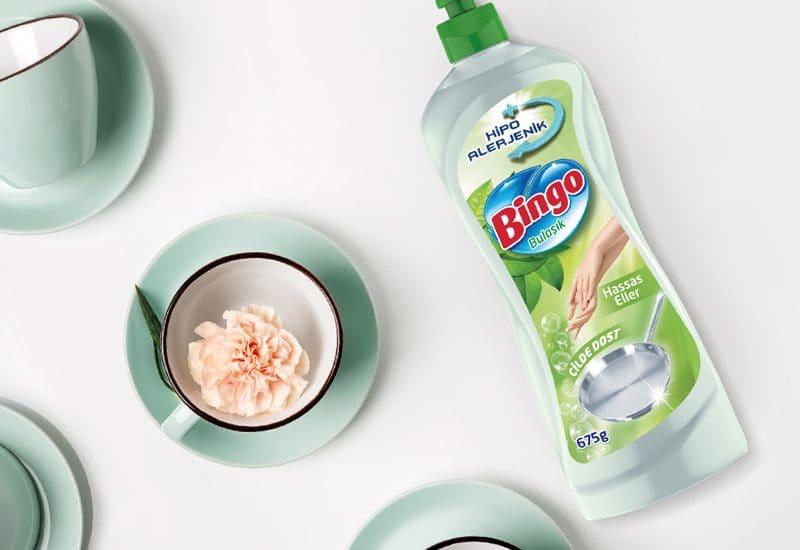 Bingo Sıvı Bulaşık Ambalaj Tasarımı