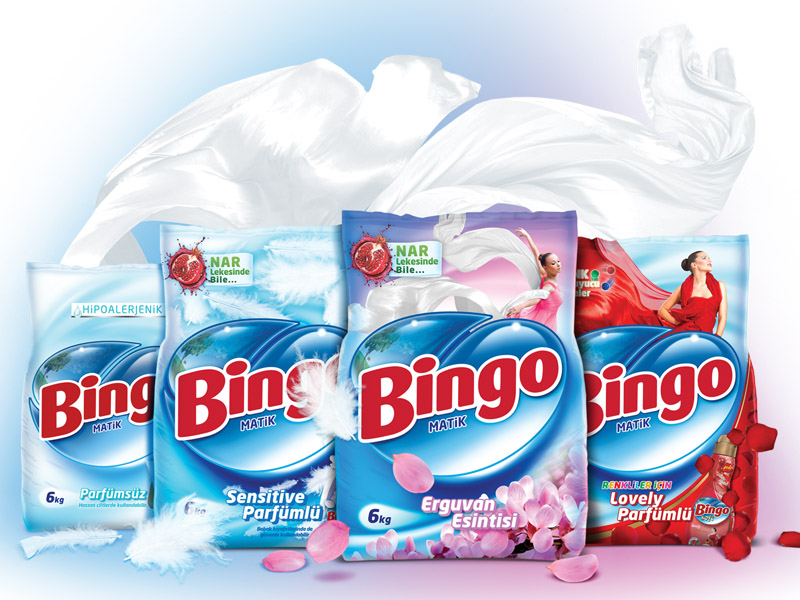 Bingo Matik Ambalaj Tasarımı