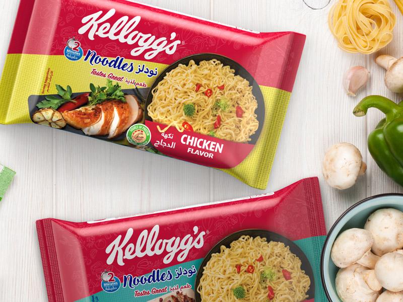Kellogg's Noodles Ambalaj Tasarımı