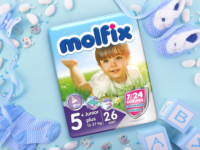 Molfix Ambalaj Tasarımı