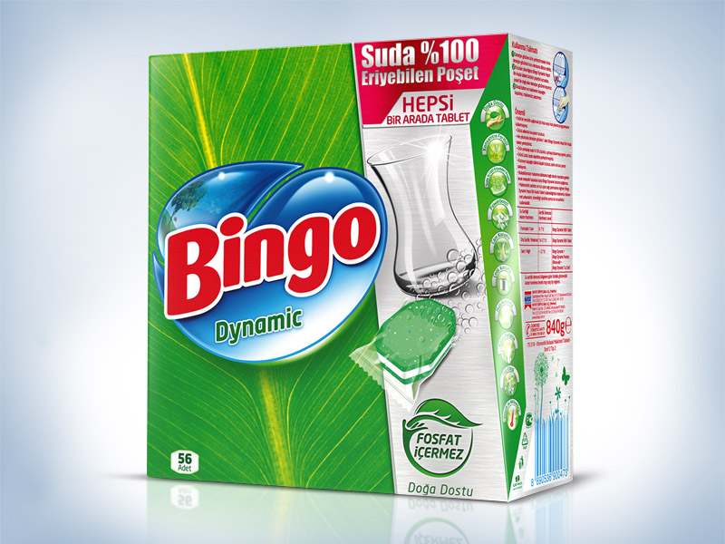 Bingo Dynamic Ambalaj Tasarımı