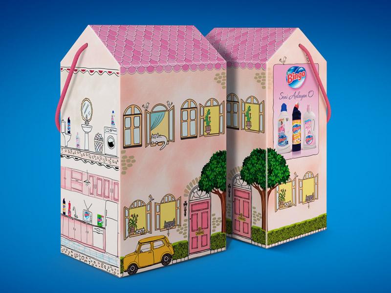 Bingo Ev Kutu Tasarımı