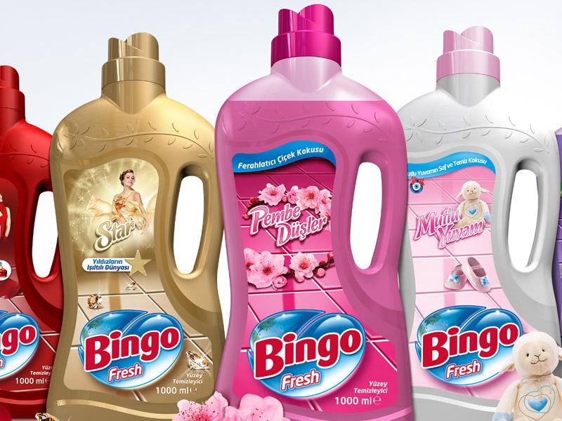 Bingo Fresh Ambalaj Tasarımı