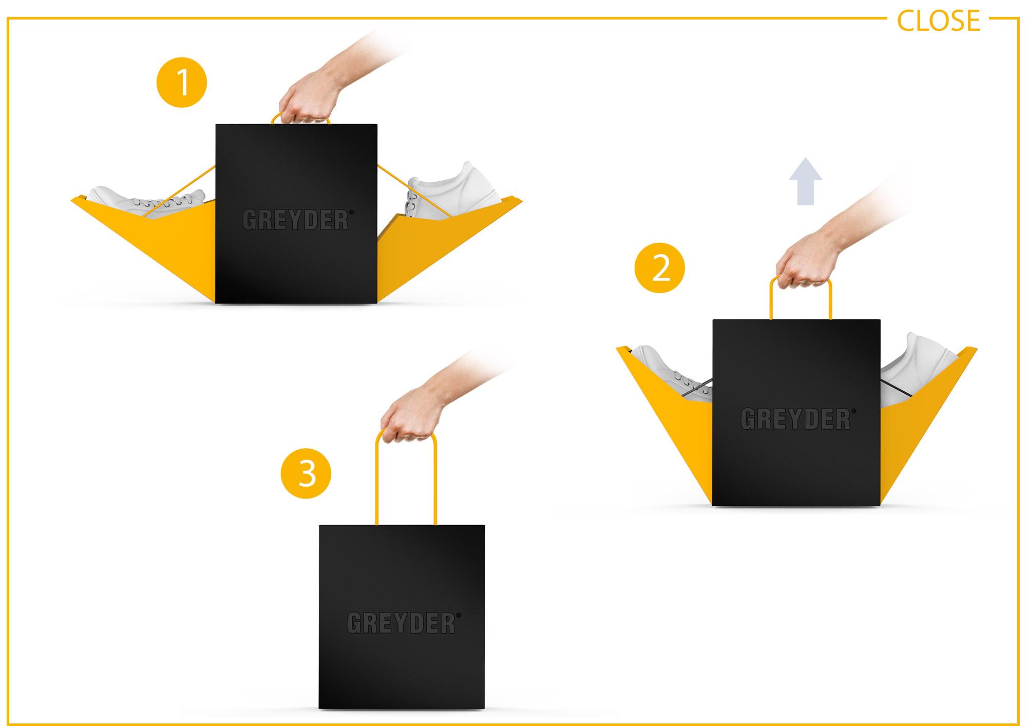 Greyder Ayakkabı Kutu Tasarımı